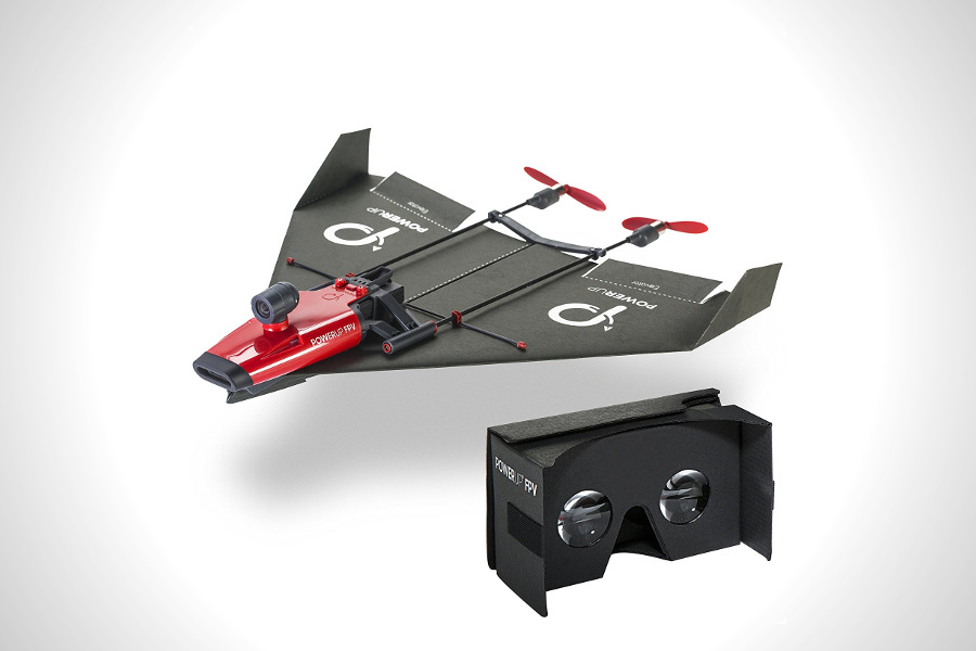 Paper Airplane VR Drone